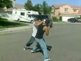 Дзюдоист против боксёра